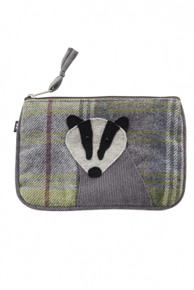Animal Zipped Purse bager