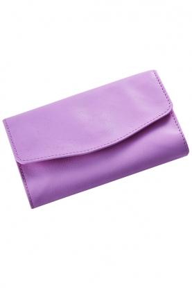 Luxe Leather Jewellery Roll