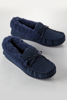 Ladies Moccasin Slippers