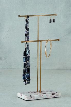 Double Bar Jewellery Stand