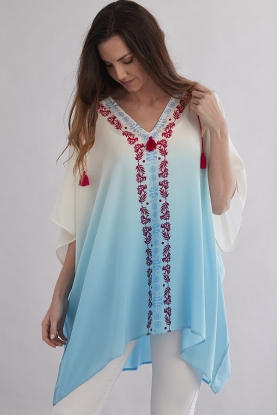 Luxurious Pure Silk Cover-Up