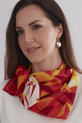 Hot Spice Silk Scarf