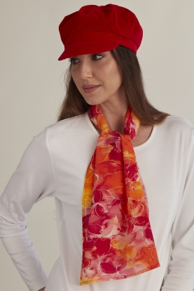Fire Flower Scarf