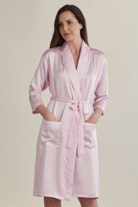 Pure Silk Robe
