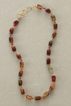Mixed Agate Necklace