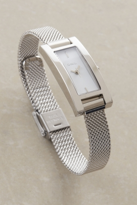 Exclusive Silver Mesh Watch